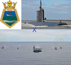 Marinha do Brasil - PASSEX 2010 - Carl Vinson